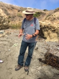 August 24, 2019 Geology Field Trip to Estero Bluffs State Park led by John McCabe